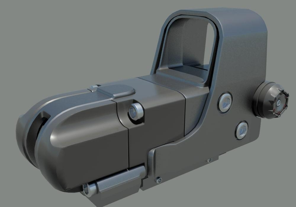 3d collimator scope model