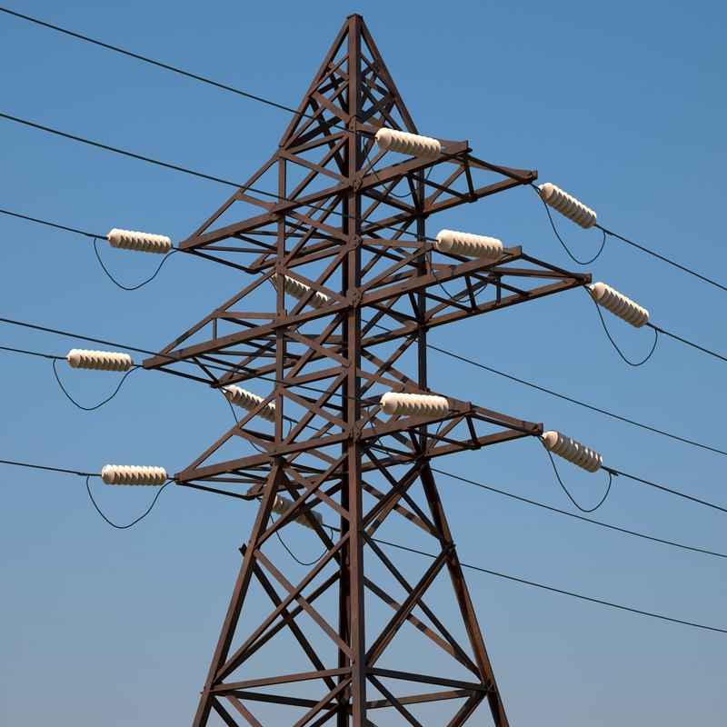 power transmission tower max