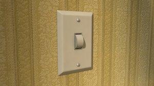 dimmer switch 3d model