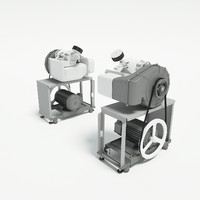 3d engine mortor model