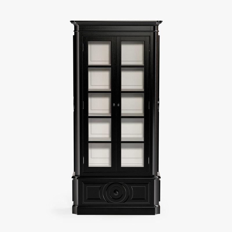 eichholtz cabinet grand royale 3d model