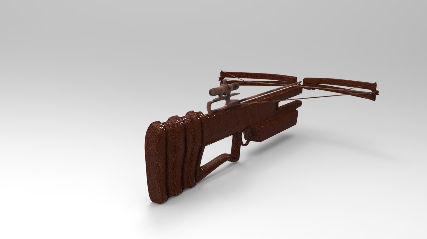 3ds crossbow polys