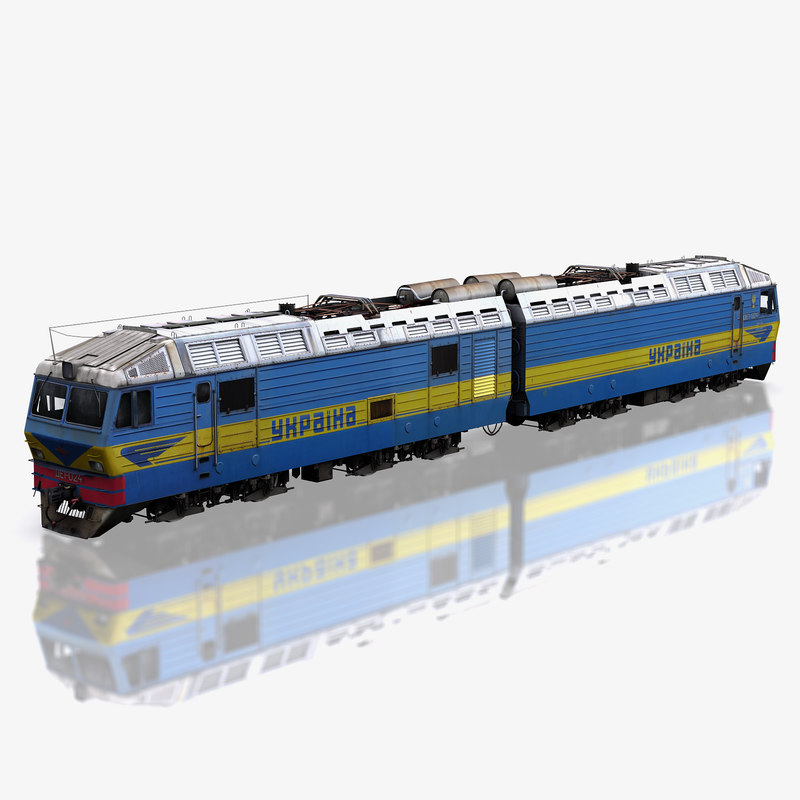 locomotive de1 ukraine max
