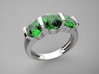 3d model ring trilogy