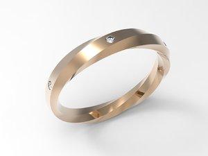 gold ring 3dm