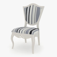 3d model brevio saloti paola chair