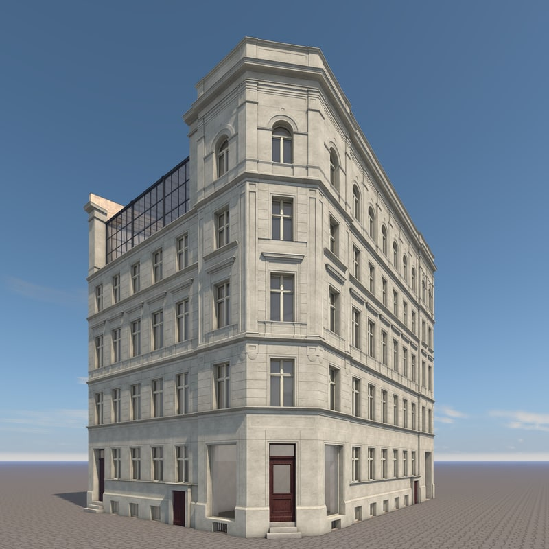 3ds max berlin house frankfurter strasse