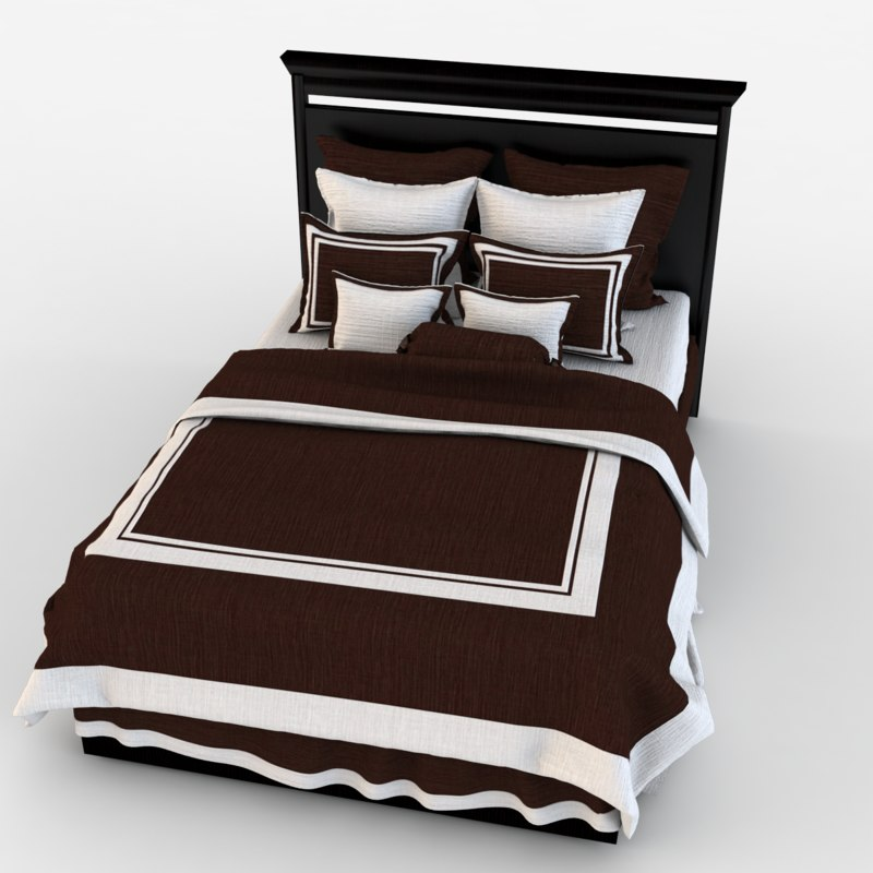 children bed 3d 3ds