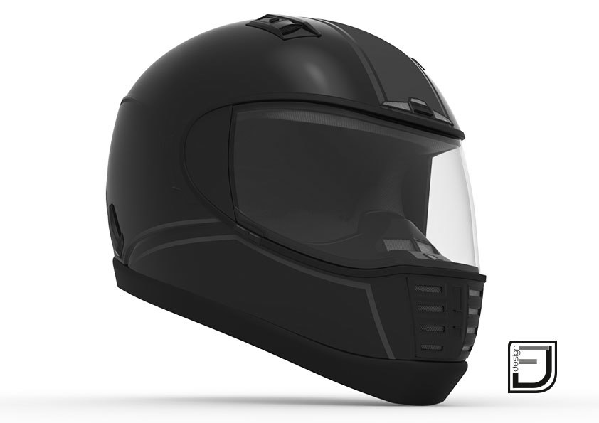 3ds max black helmet 05