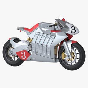 3dsmax photoreal electric racing