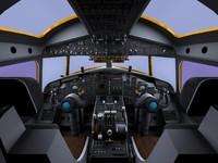 E-2C Hawkeye cockpit.