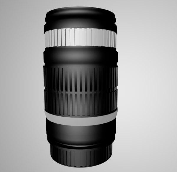camera lens c4d free