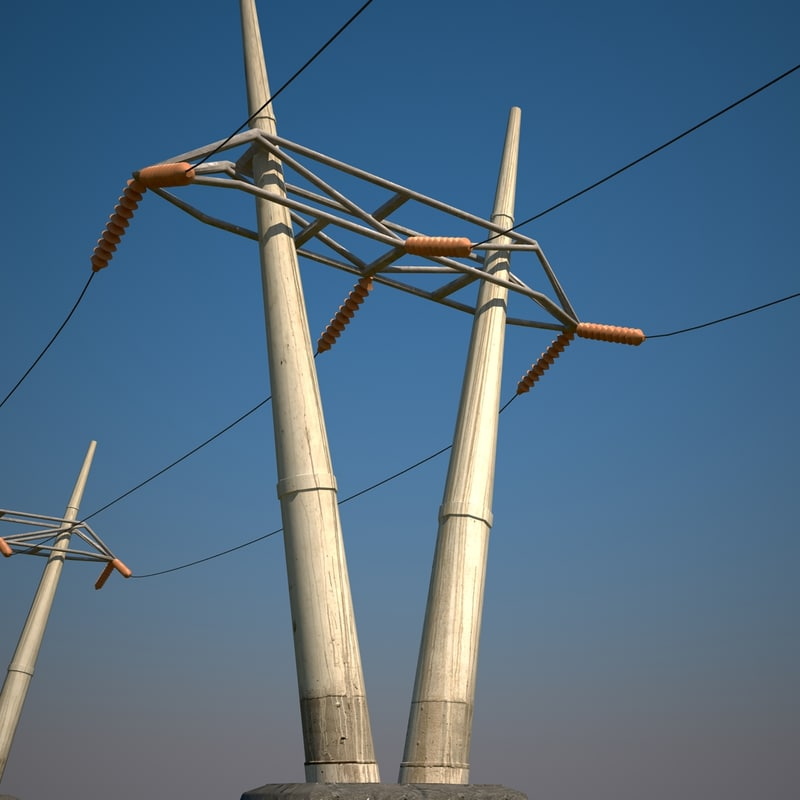 power line tower max