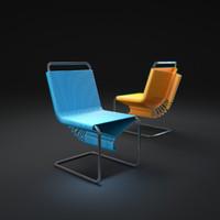 coat-check-chair 3d model