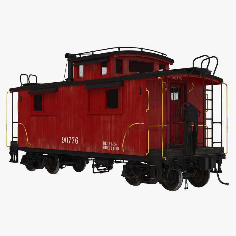 max caboose modeled realistic