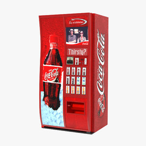 coca cola vending machine max
