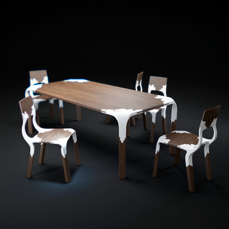 maya plasticnature-table-and-chairs