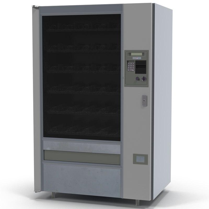 vending machine 2 3d model