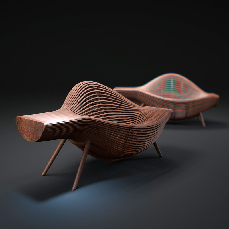 3d bae-sehwa-chair