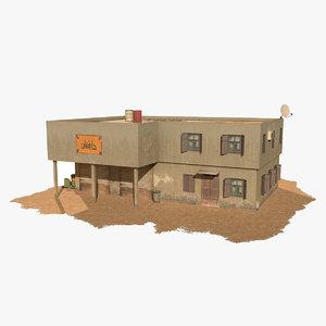 3d arab house