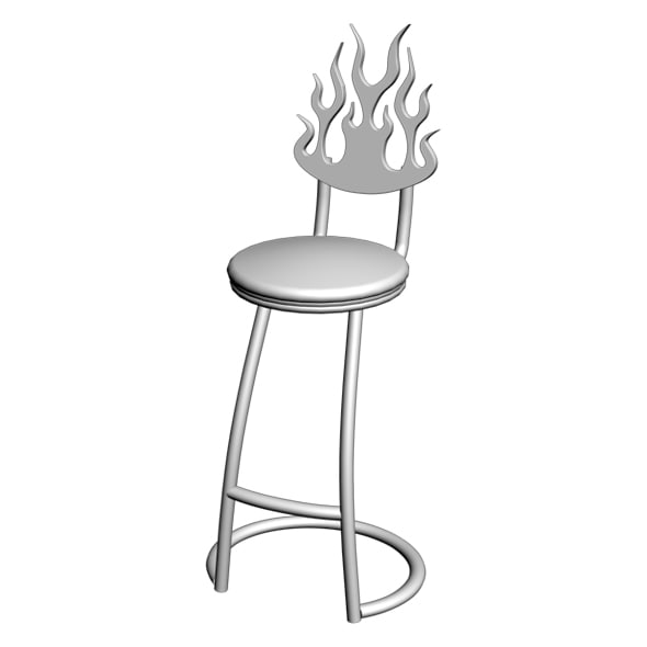 chair wrought iron max