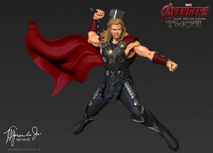 3ds thor aven age ultron