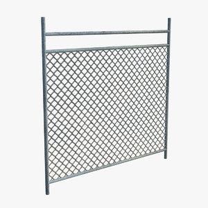 fence v-ray 3d model