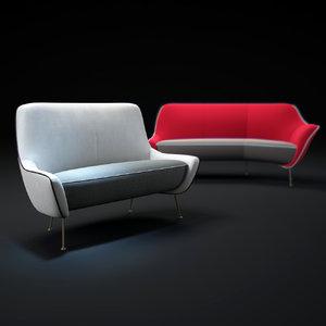 3ds max mio-sofa