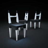 ruined-chair 3d max