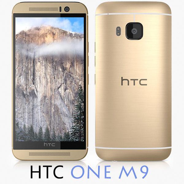 3d htc m9 model