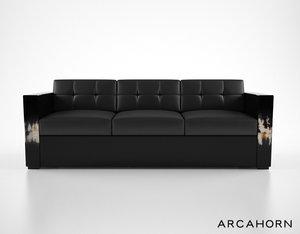 arca arcahorn 1802 sofa 3d obj
