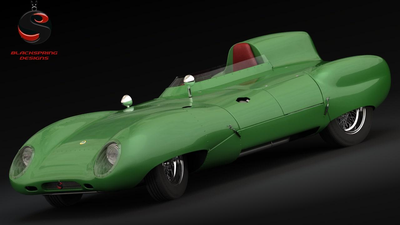 1964 car 3d max