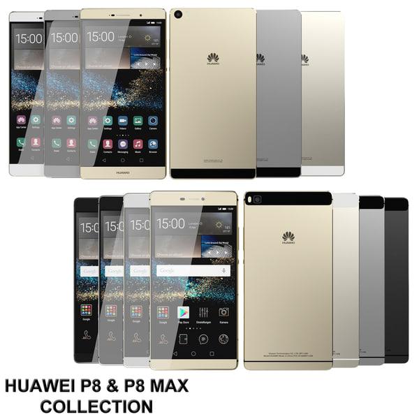 realistic huawei p8 max