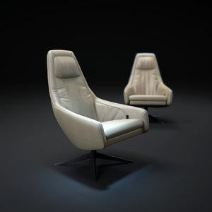 3d puk-armchair model
