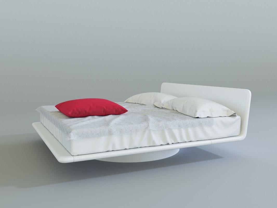 bonaldo giotto bed 3d max
