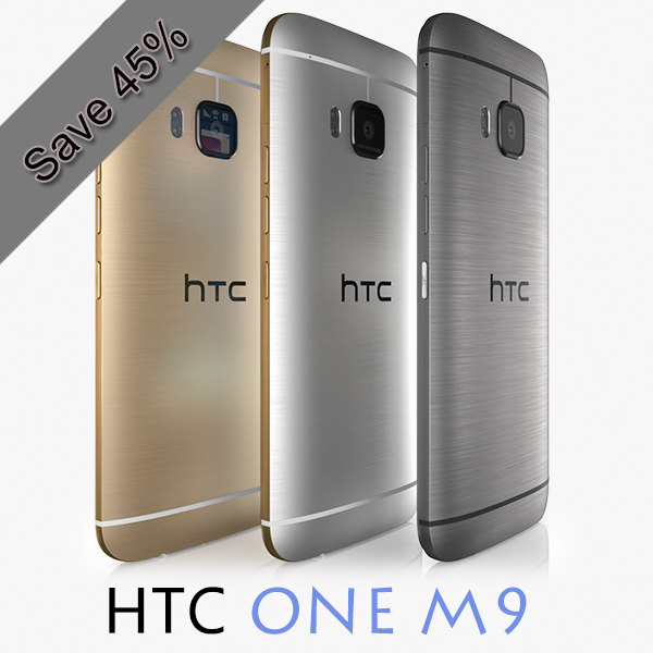htc m9 colors 3d x