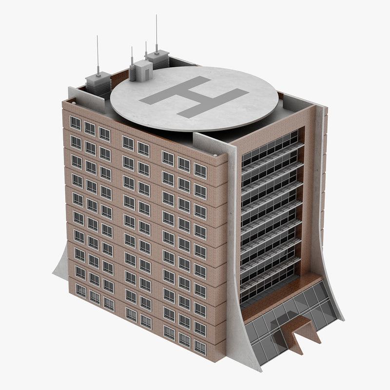 3ds max office building 04