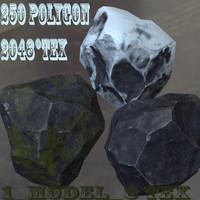rock roc 3d model