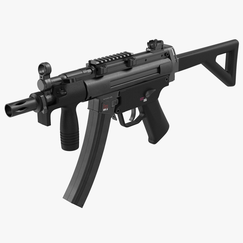 3ds assault rifle mp5k