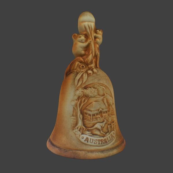 free 3ds model ceramic bell