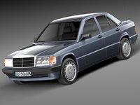 mercedes mercedes-benz 1982 3d max