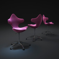 3d model varier-active-chair