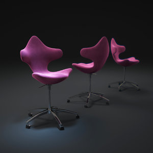3d model varier-active-chair