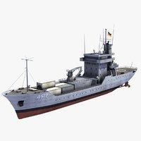 Elbe Class Replenishment Ship