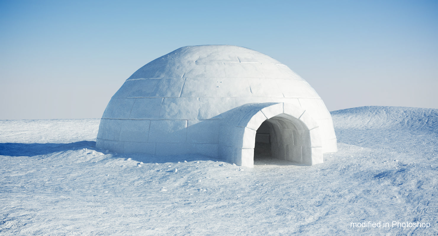 """building of an igloo How to build an igloo like a professional share words by chuck tanner that's warm,"""" chuckles the igloo master so, the climber began building igloos in 1997."""