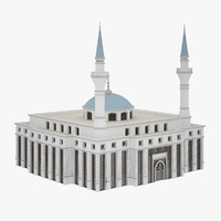 3ds max mosque