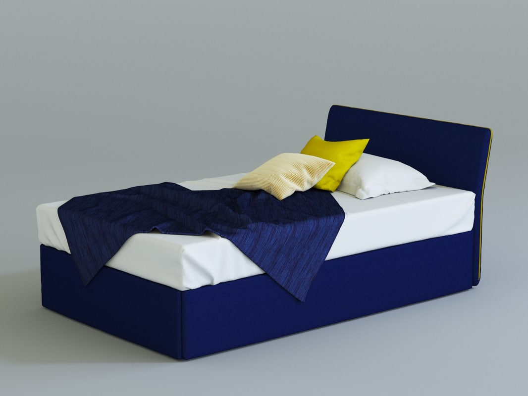3d bonaldo true bed