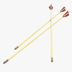 3d bow arrow 2