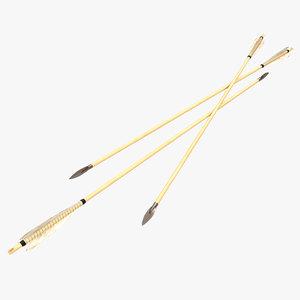 3ds max bow arrow