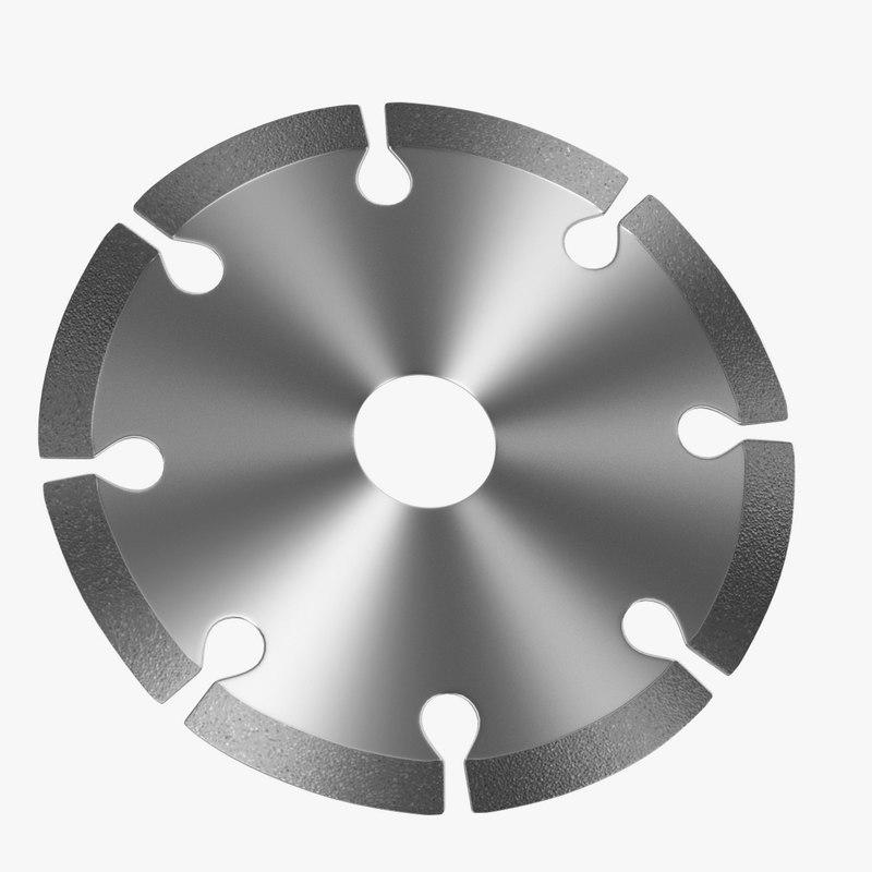 3d model disc